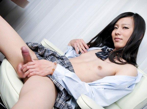 中澤チュリン なかざわちゅりん 女子高生 美人 男の娘 シーメール ニューハーフ 無修正 射精 動画