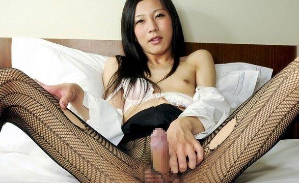 中澤チュリン なかざわちゅりん 美人 シーメール ニューハーフ 無修正 射精 動画 包茎 仮性包茎