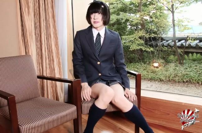 篠原まお 早瀬ひな TGirlJapanHardcore 男の娘 アナル生挿入 ゴム無し 射精 精子