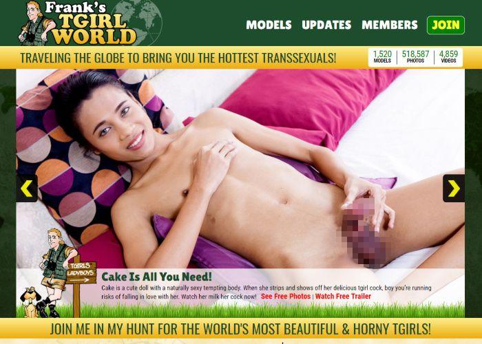 Franks T-Girl World 外国人ニューハーフ 無修正動画サイト
