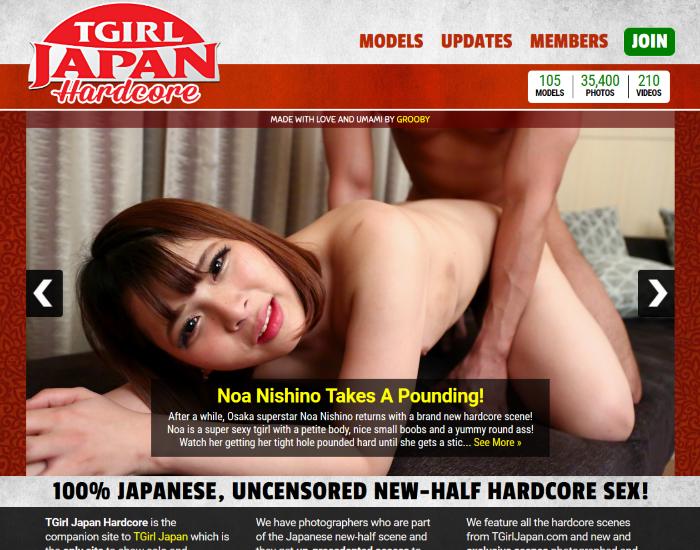 シーメールジャパンハードコア TGirl Japan Hardcore サイト名変更